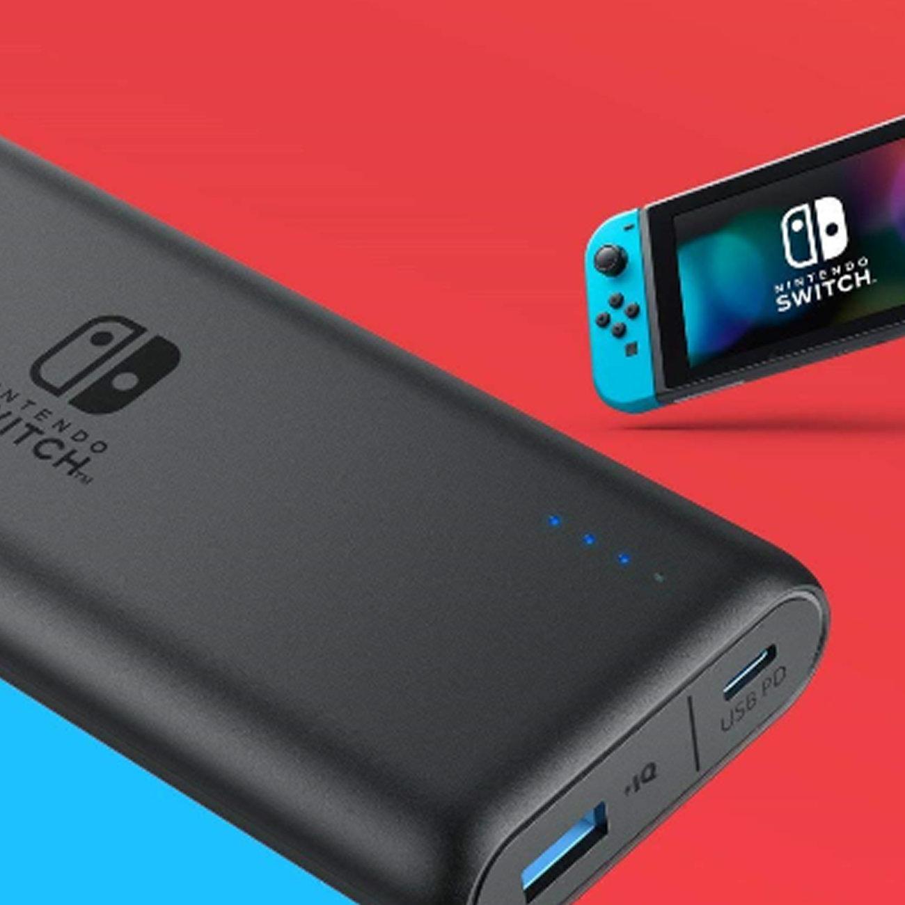 ニンテンドースイッチ、任天堂公式バッテリー半額。買う