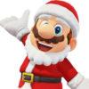 スーパーマリオ オデッセイ、サンタ衣装が追加。8bitは凄くシュール