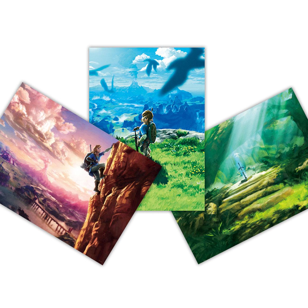 ゼルダの伝説 ブレス オブ ザ ワイルド、プラチナP交換可能ポスター