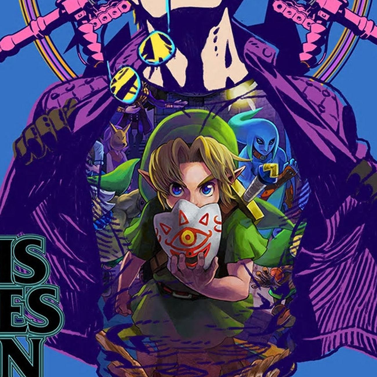 ゼルダの伝説、ムジュラの仮面TシャツがTravis Strikes Again