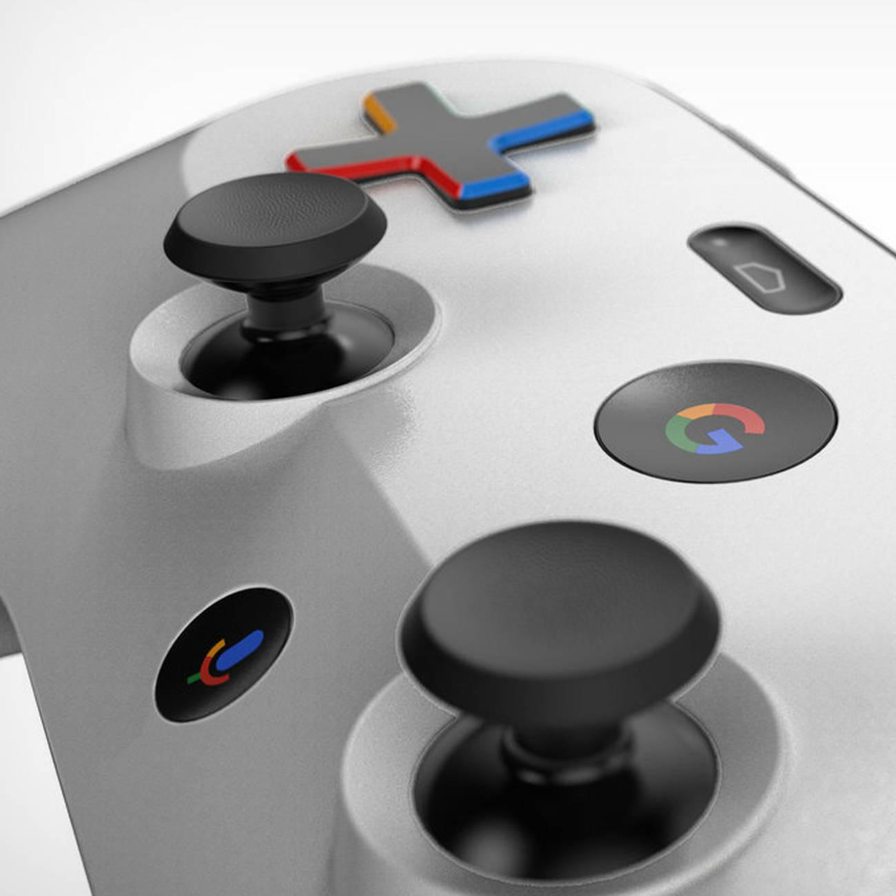 プレイステーションっぽいゲームコントローラーGoogle