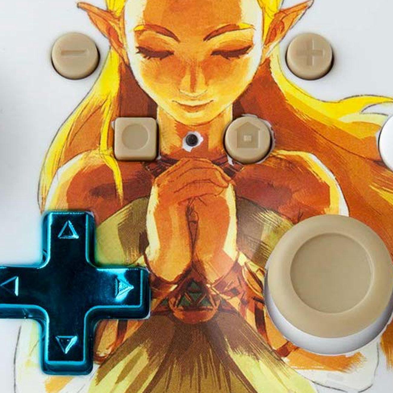 ゼルダの伝説 ブレス オブ ザ ワイルド、姫デザインのコントローラー