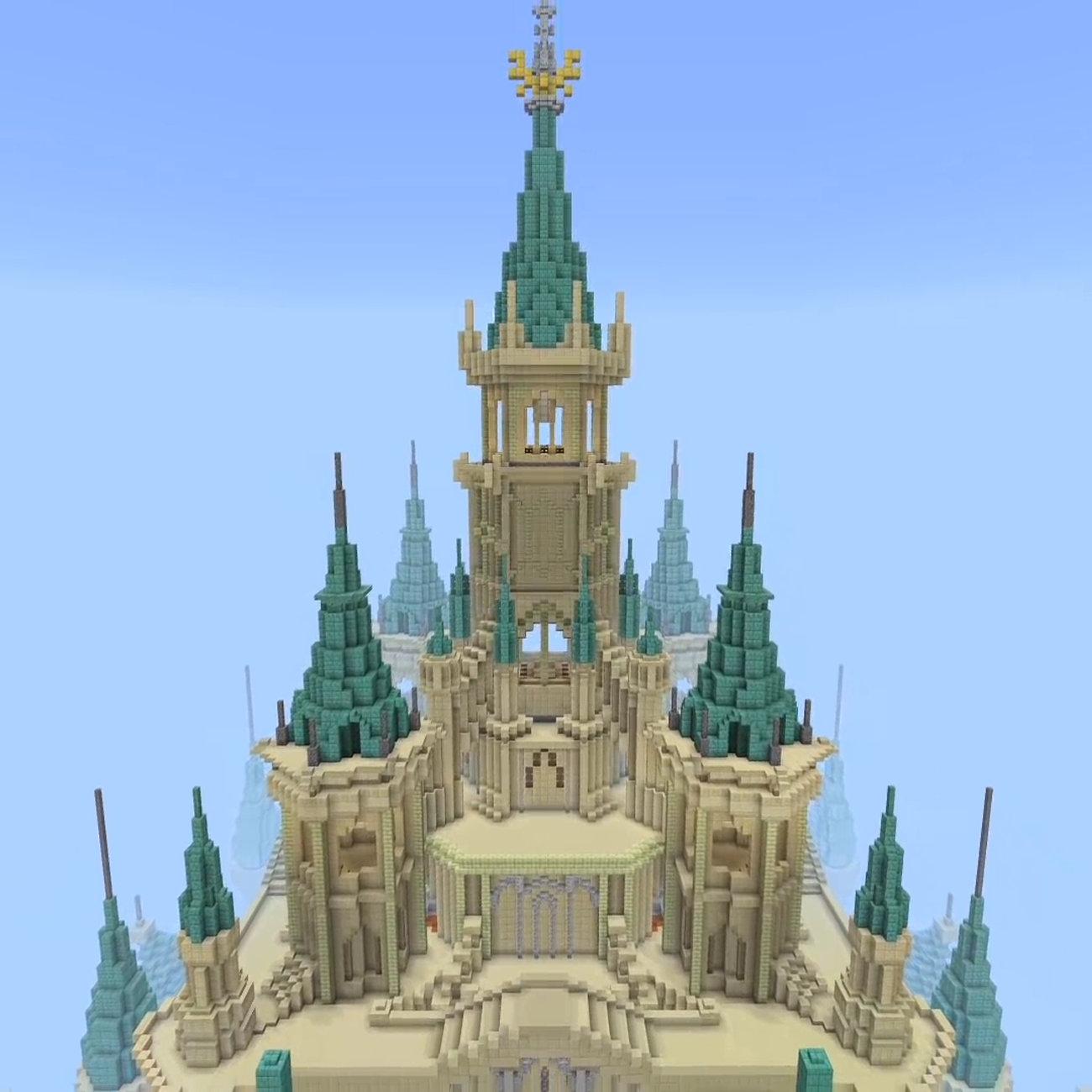 ゼルダの伝説 ブレス オブ ザ ワイルド、マイクラでハイラル城。前振り