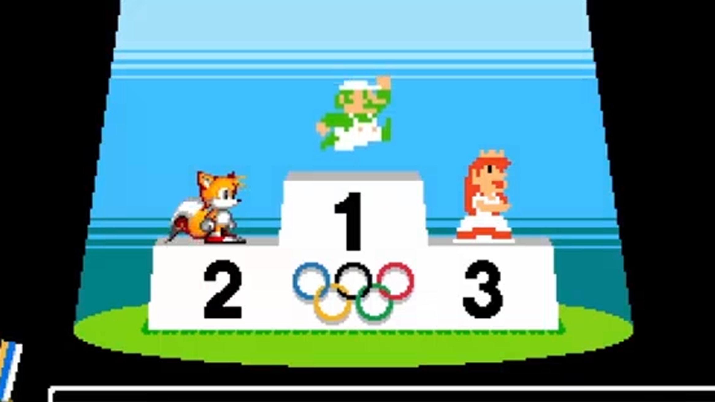 マリオ&ソニック東京五輪、2Dゲーム。1964年の東京オリンピック