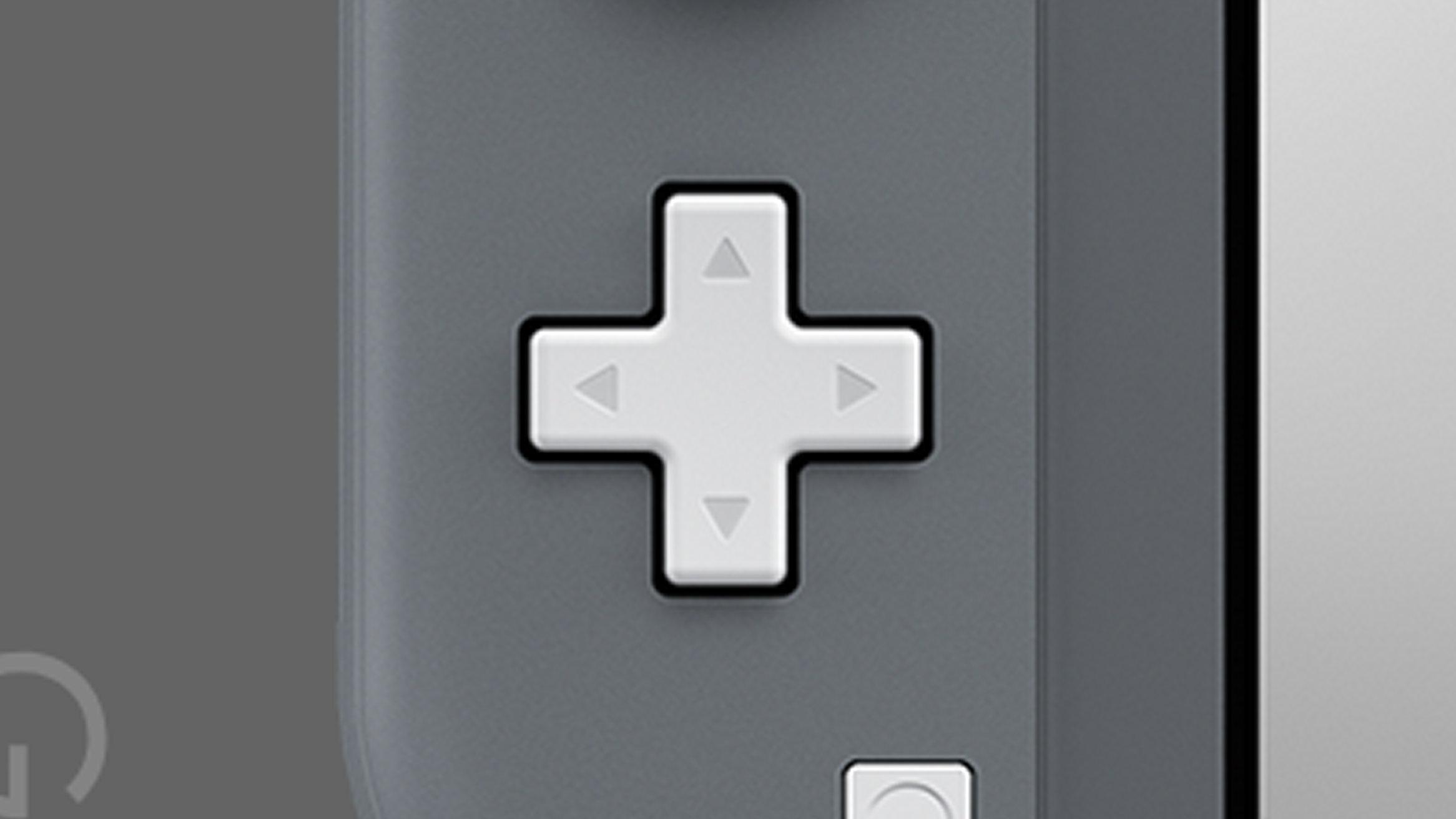 Nintendo Switch Lite、十字キーの斜め入力がしにくい