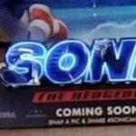 ソニックの実写映画、新デザイン版の立体ポスターが制作される?