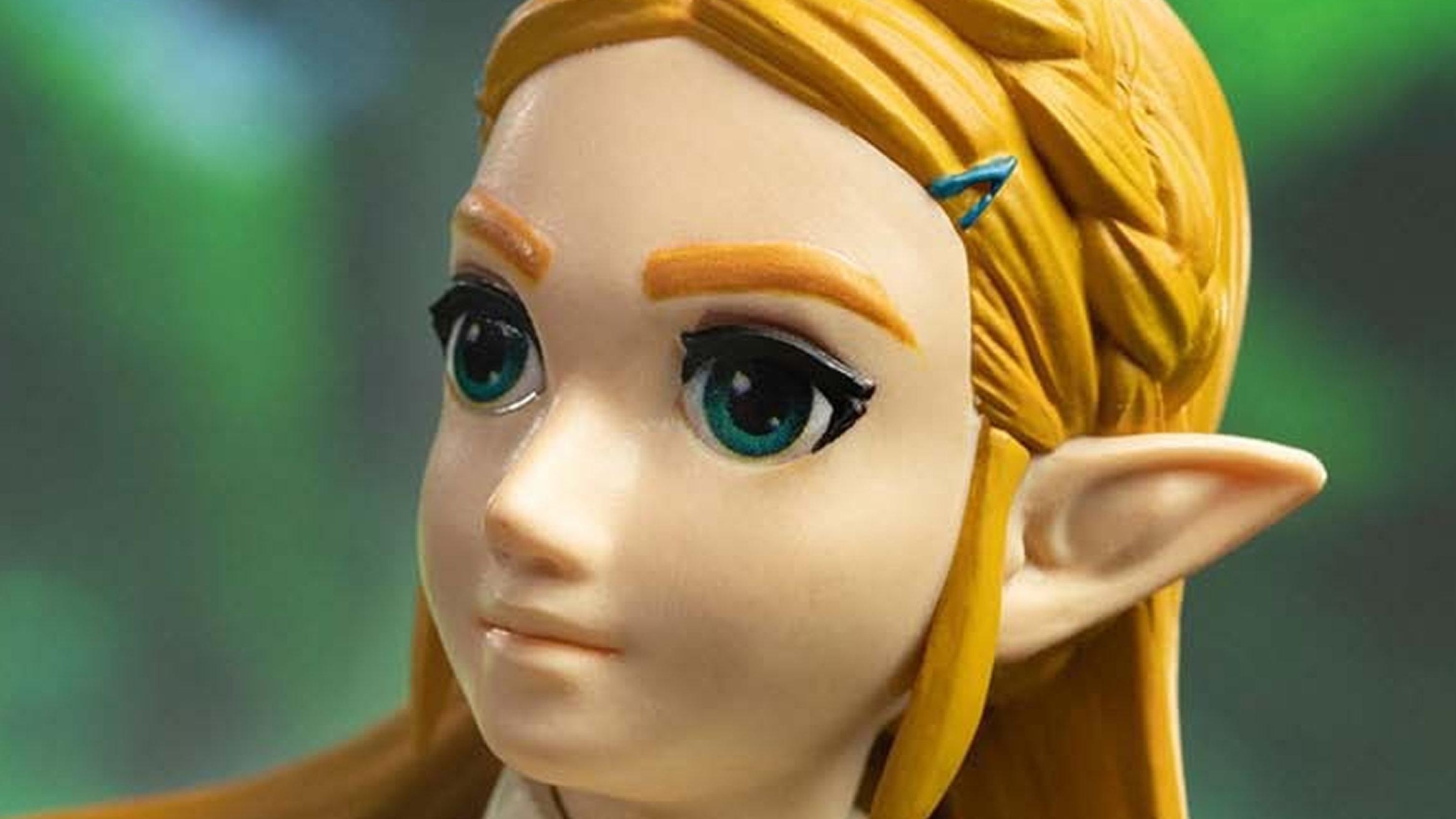 ゼルダの伝説 ブレス オブ ザ ワイルド、姫フィギュアをFirst 4 Figures