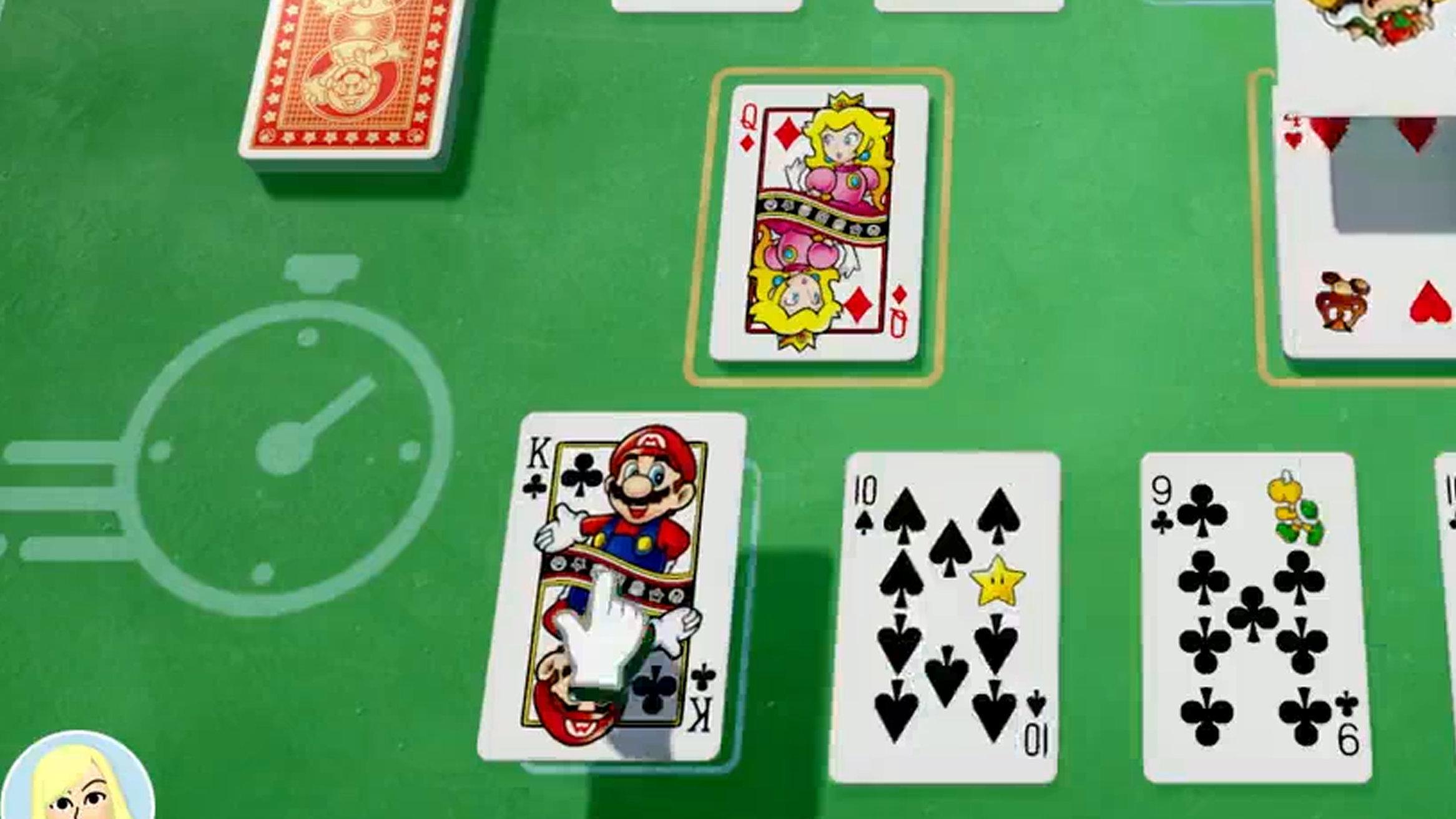 世界のアソビ大全51、マリオのデザインのカード。クラニン