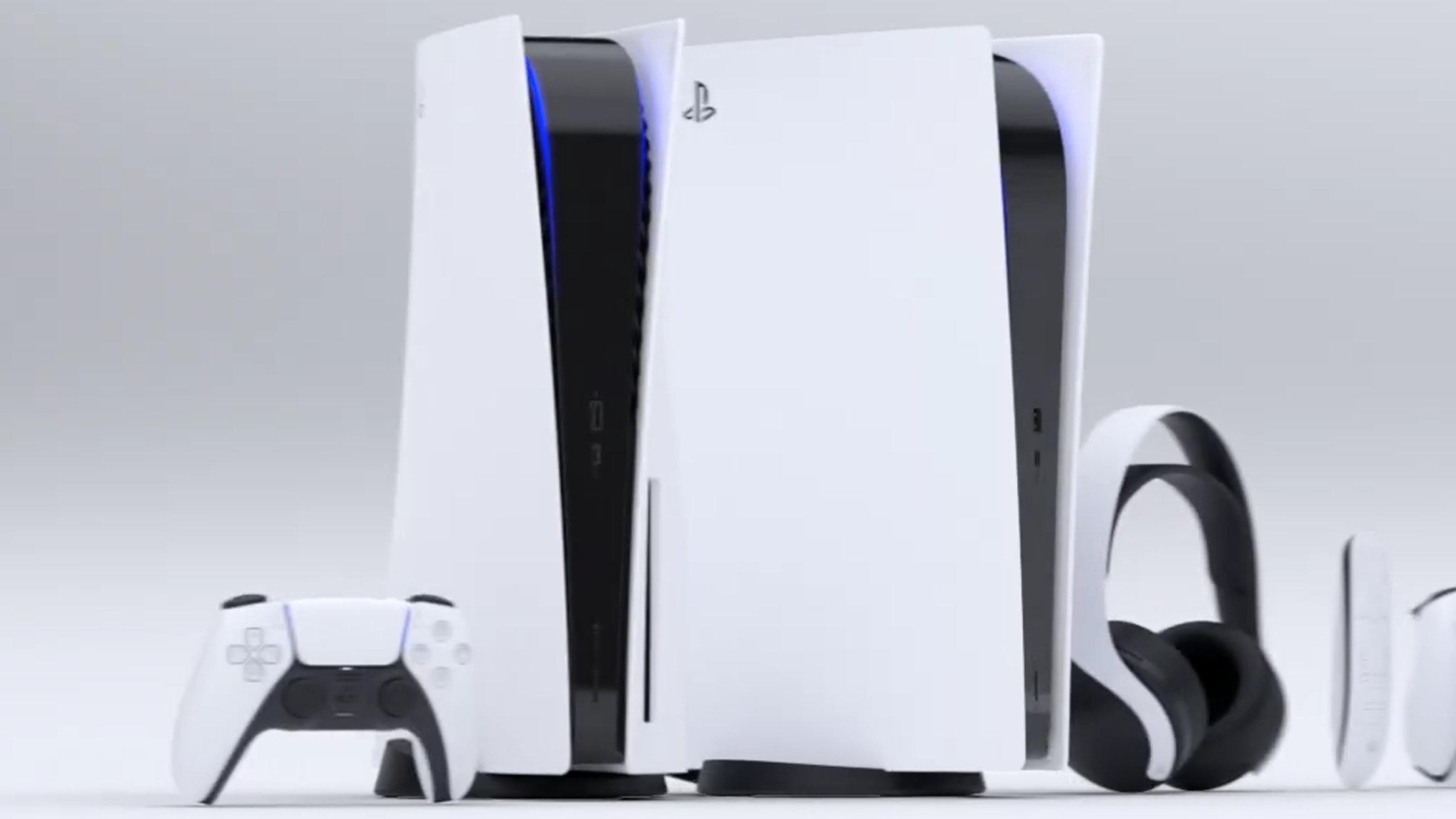 PS5、DL専用機と2種類。本体デザインもオシャレ感と既視感