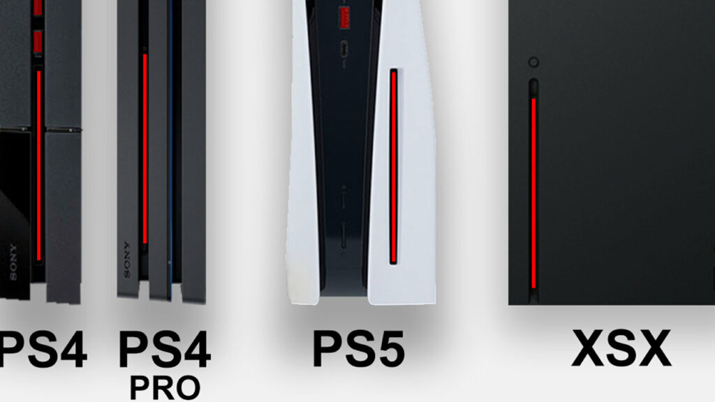 PS5、サイズ比較が話題。歴代プレイステーションで一番大きいかも