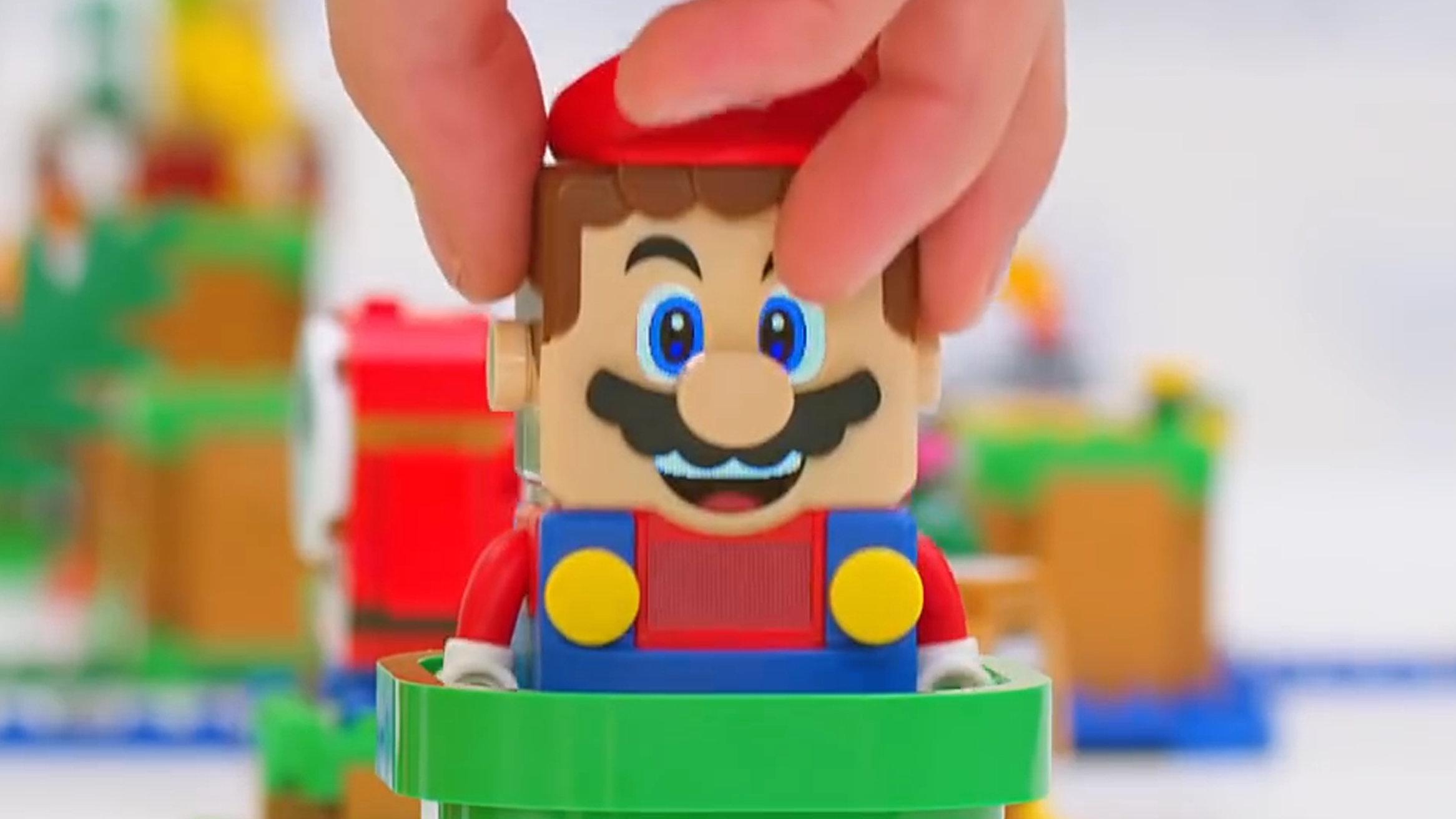 マリオのレゴ、任天堂が6000回も落下試験を実施