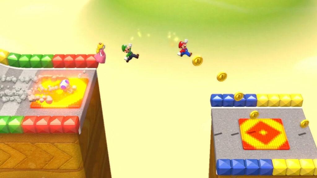 スーパーマリオ 3Dワールド、スイッチ版はオンライン対応や速度アップと豪華