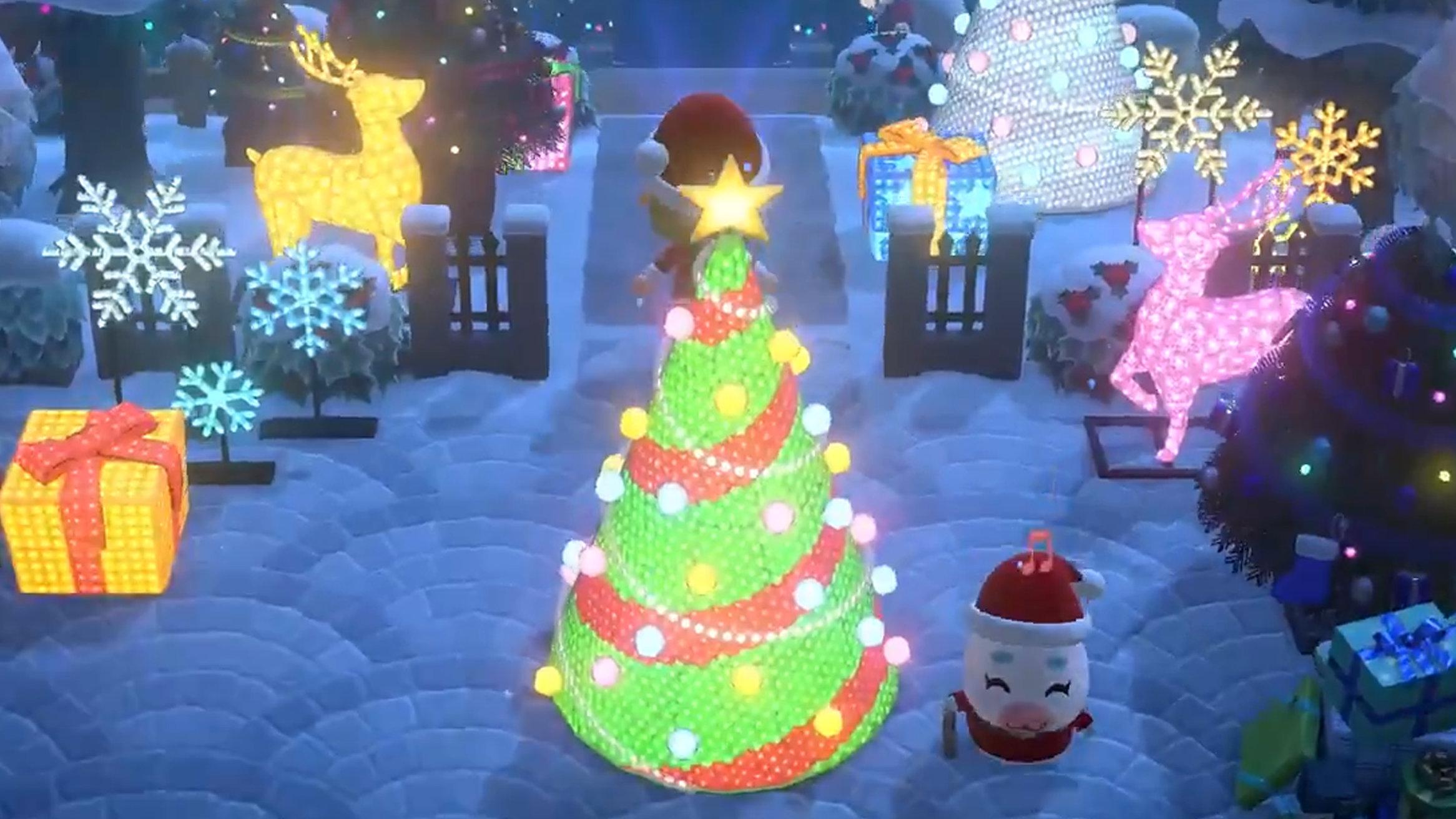 あつまれ どうぶつの森、収納数の拡張やクリスマスイベントのアプデ