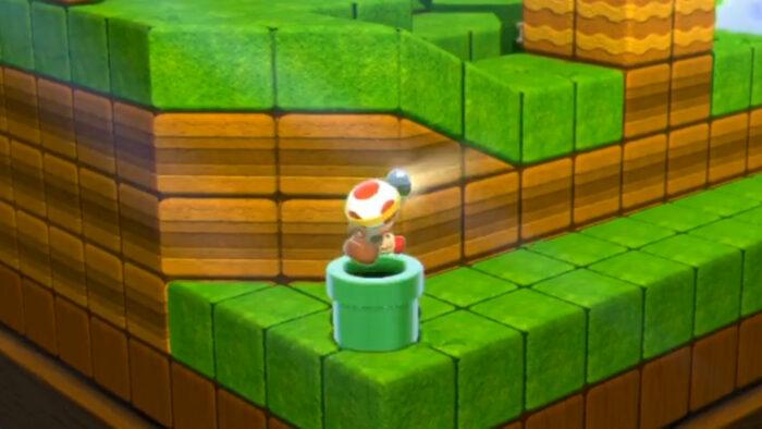 スーパーマリオ 3Dワールド、スイッチ版のキノピオ隊長は4人マルチプレイ可能