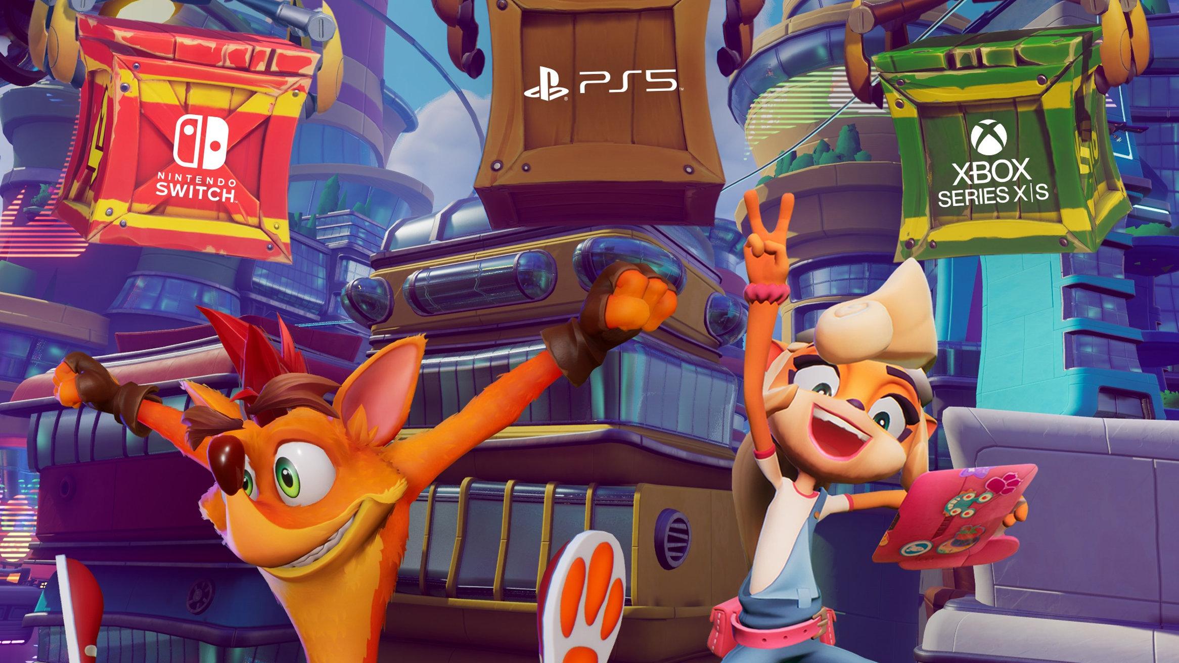 クラッシュ・バンディクー4、PS5やニンテンドースイッチ