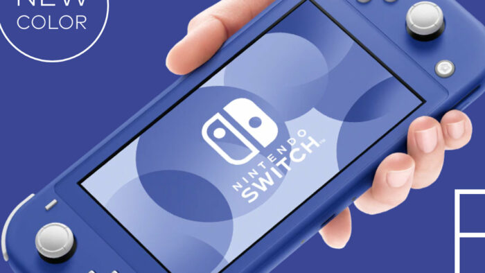 ニンテンドースイッチ、Liteの新色「ブルー」登場。発売日は2021年5月21日