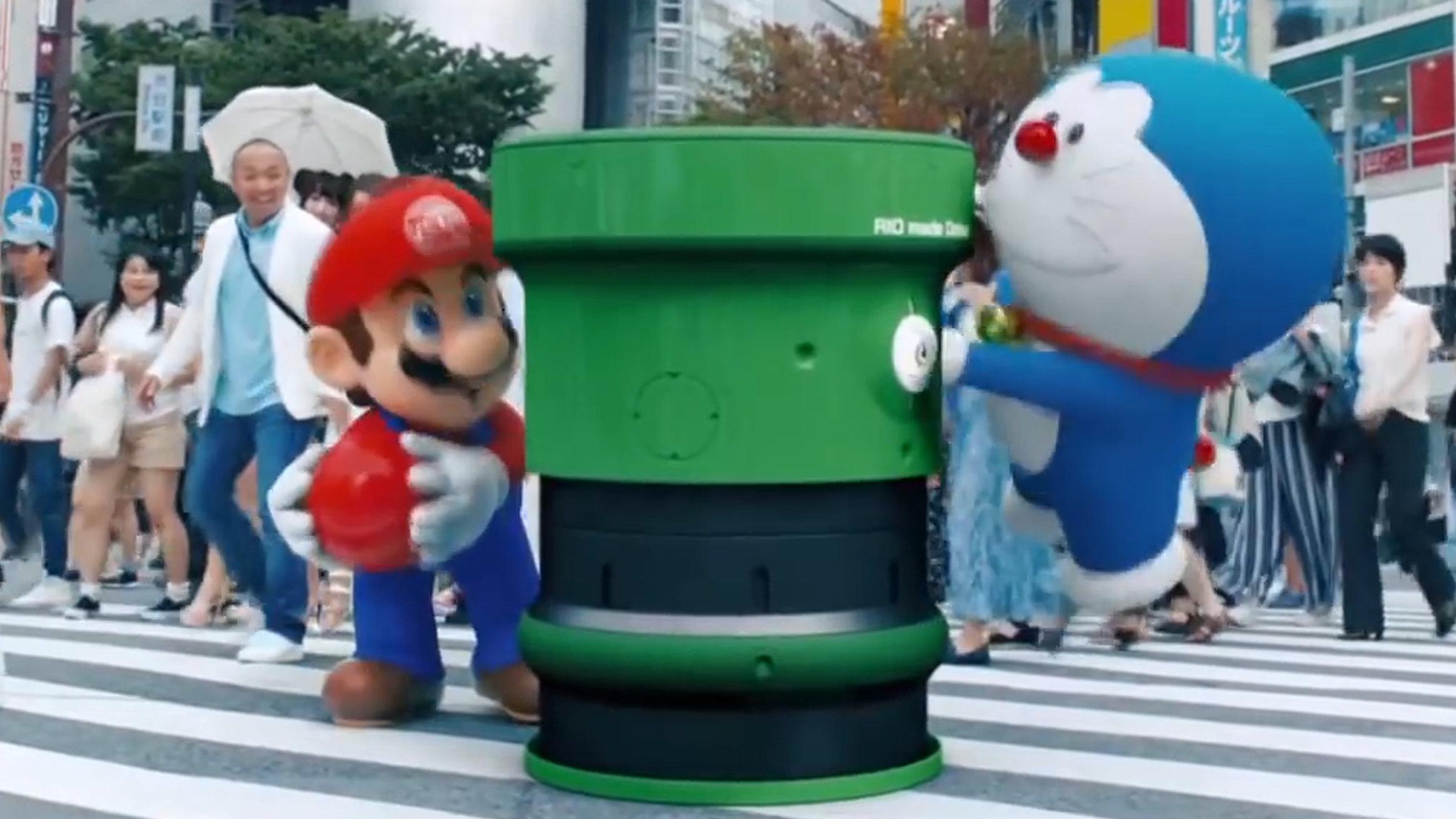東京2020オリンピック開会式、ピカチュウ登場し土管の伏線も回収