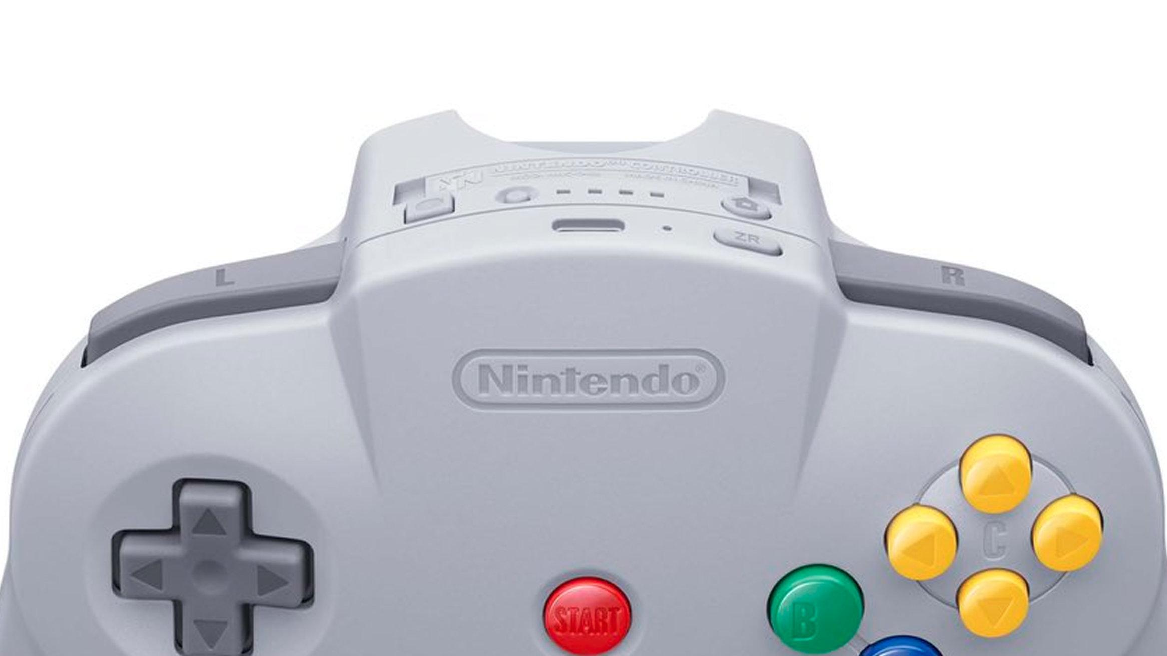 ニンテンドースイッチ用ニンテンドウ64コントローラーはボタンが増えている